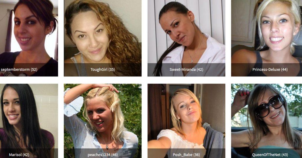 Die Auswahl an Frauen kann sich sehen lassen.